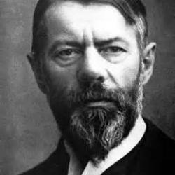Max Weber, sociologue allemand 1864-1920