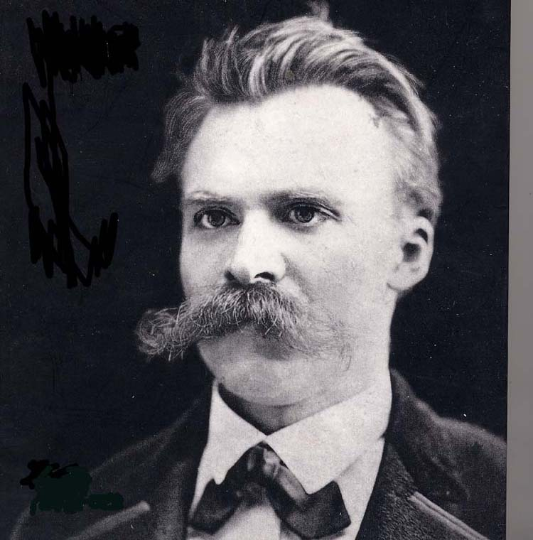 Nietzsche Friedrich, philosophe allemand 1844-1900