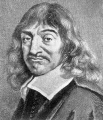 René Descartes, physicien, philosophe français 1596-1650