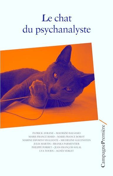 Le chat du psychanalyste couv