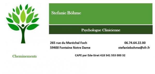 Sb psychologue clinicienne